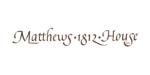 Matthews 1812 House coupons