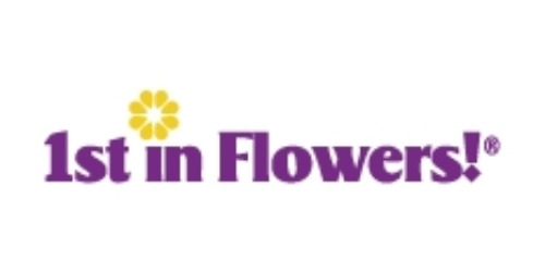 1st in Flowers! coupon
