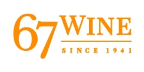 67 Wine coupon