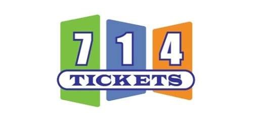 50% Off 714 Tickets Promo Code (+3 Top Offers) Jun 19
