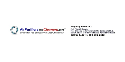 Air Purifiers and Cleaners.com coupons