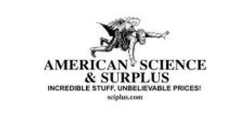 American Science and Surplus coupons