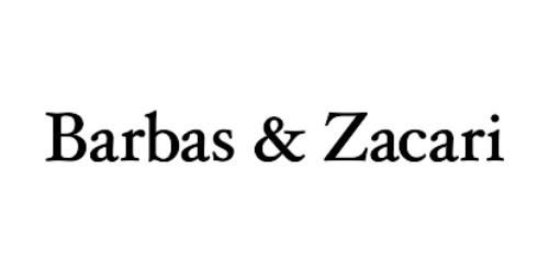 Barbas and Zacari coupons
