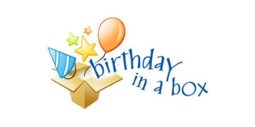 Birthday in a box coupon code