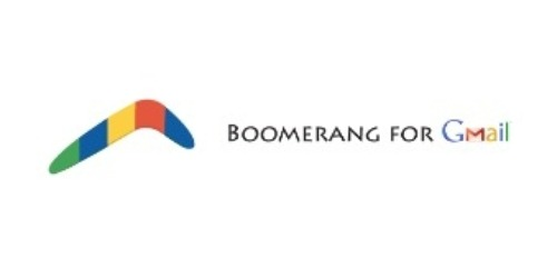 Boomerang for Gmail coupons