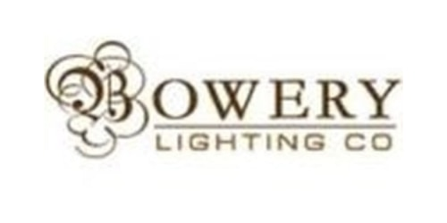 Bowery Lighting Promo Code Get 1 Off On Purchases Over 100 At