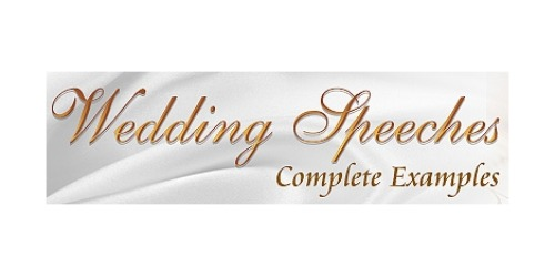Wedding Speeches Complete Examples coupons