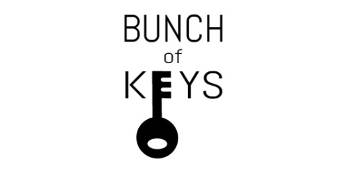 50% Off Bunch of Keys Promo Code (+2 Top Offers) Aug 19 — Knoji