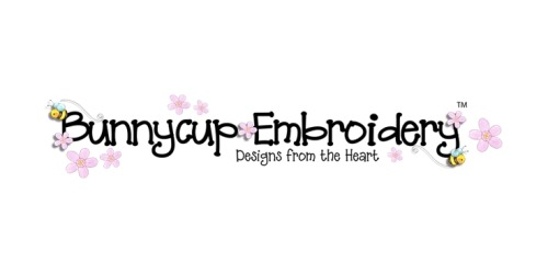 Bunnycup Embroidery coupons