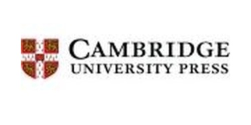 Cambridge University Press coupons