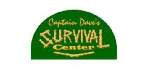 Captain Dave's Survival Center coupons