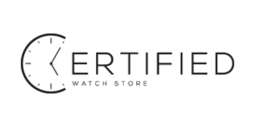 Certified Watch Store coupons