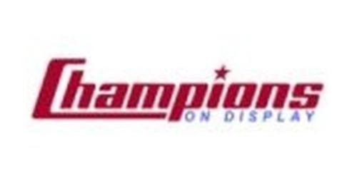 Champions On Display coupons