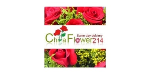 ChinaFlower214 coupons