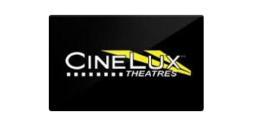Cinelux Theatres coupons