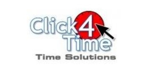 Click4Time coupons