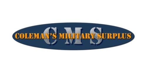 55% Off Coleman s Military Surplus Promo Code (+5 Top Offers) Feb 19 e900b62d1bb