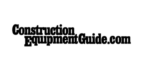 Construction Equipment Guide coupons