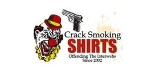 Crack Smoking Shirts coupons