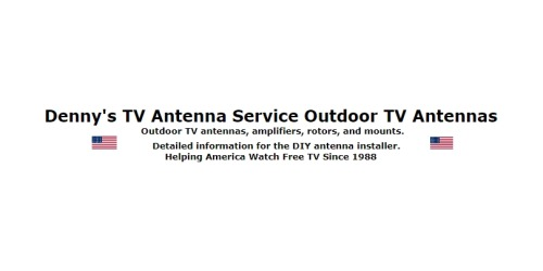 50% Off Denny's TV Antenna Service Promo Code (+2 Top Offers