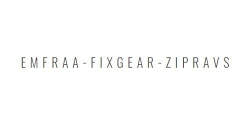 EMFRAA-FIXGEAR-ZIPRAVS coupons