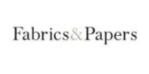 Fabrics and Papers coupons