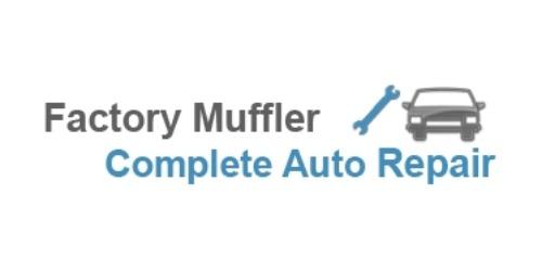 Factory Muffler coupons
