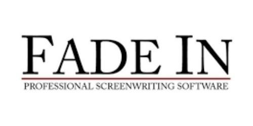 fade in screenwriting software coupon code