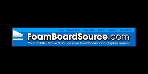 Foam Board Source coupons
