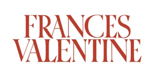 Frances Valentine coupon