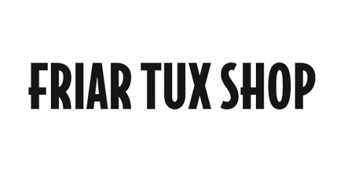 Friar Tux Shop coupons
