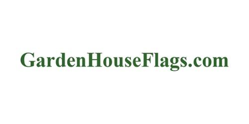 Garden House Flags coupon