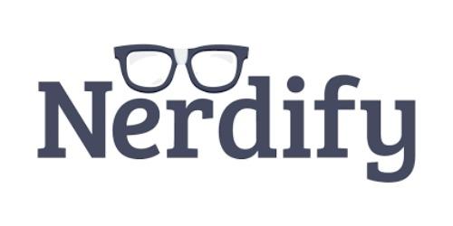7eeeb547bd8 50% Off NERDIFY Promo Code (+5 Top Offers) Apr 19 — Gonerdify.com