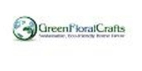 Green Floral Crafts coupons