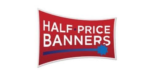 Half Price Banners coupon