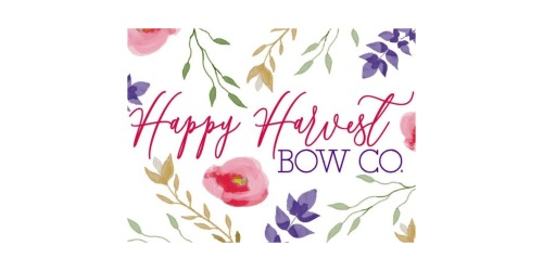 Happy Harvest Bow Co coupon
