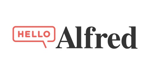 Hello Alfred coupons
