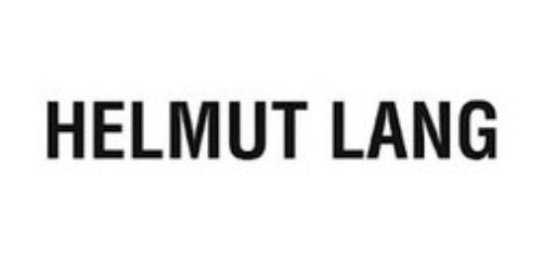 Helmut Lang coupon