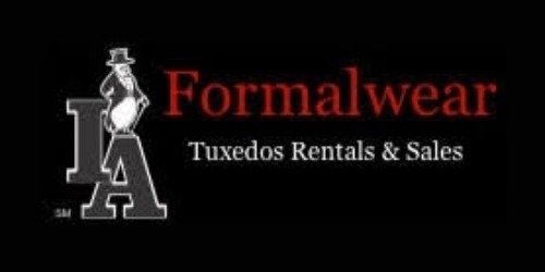 I&A Formalwear coupons