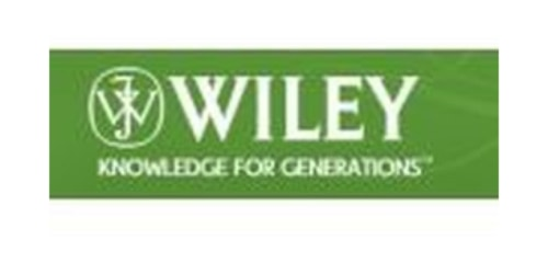 John Wiley and Sons coupons