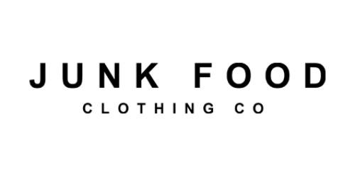 Junk Food Clothing coupon