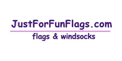 Just For Fun Flags coupon