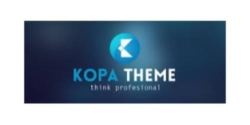 Kopa Theme coupons
