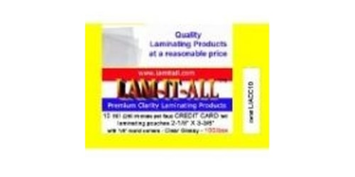 Lam-It-All coupons