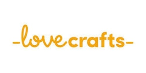 LoveCrafts coupon