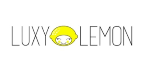 Luxy Lemon coupon