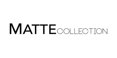 8140a79bb8 60% Off Matte Collection Promo Code (+22 Top Offers) May 19
