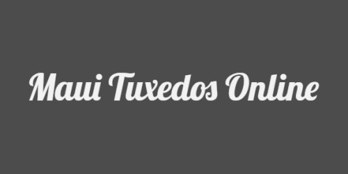 Maui Tuxedos Online coupons