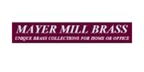 Mayer Mill Brass coupons