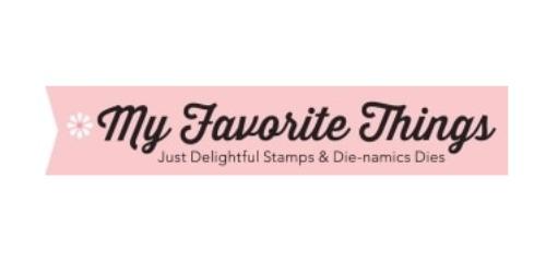 My Favorite Things coupon
